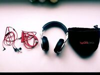 OFFER ! Beats by Dr. Dre pro Over-Ear DJ Headphone / Earphone - Multiple offer
