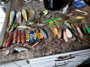 Fishing tackle mostly brand new