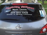 SKIP THE DRIVING! In Home Piano/Keyboard Lessons !!