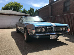 1968 Mercury Cougar Base Coupe (2 door)