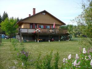 159 acres with Log Home, Dorintosh SK