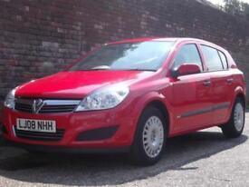 Vauxhall/Opel Astra 1.6 16v ( 115ps ) ( a/c ) Life 2008(08) 5 Door Hatchback