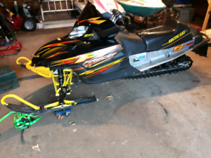 2003 firecat trade for 5.0 mustang or 3 seater seadoo & trailer