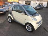 2002/51 Smart City ForTwo Semi-Automatic Passion 3dr Coupe £1995