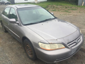 2002 Honda Accord Equ Berline