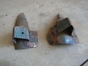 1967 or 1968 Mustang FASTBACK interior back seat brackets