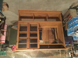 Home made tv cabinet