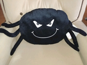 Halloween spider pillow