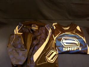 Shift Motocross / dirt bike outfit / pants / shirt
