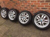 "BMW alloy wheels 15"" 1 series"