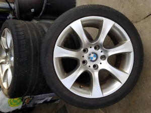 BMW 17inch staggered rims