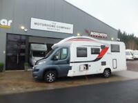 Burstner Iexo 726G four berth motorhome for sale single beds