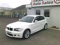 2008 BMW 1 SERIES 120d M SPORT 2L ONLY 93,905 MILES, FULL SERVICE HISTORY