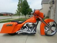 Wanted custom street glide - road glide - FL