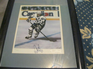 Auto Signed Autographed Doug Gilmour Ltd. Print by Daniel Parry