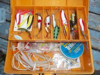 fenwick fishing tackle box complete with tackle