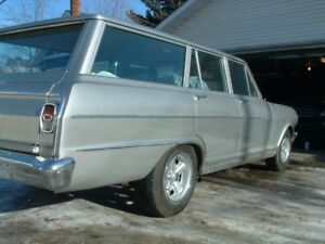 Nova station Wagon in 1963 Pontiac Acadian Invader Trim
