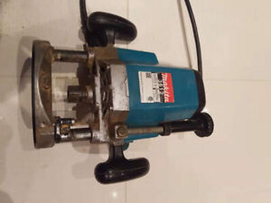 Excellent used Makita 3612 router