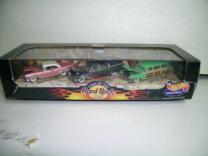 Hot Wheels Hard Rock Cafe Collectibles Set 1:64 Scale