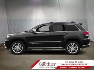 2016 Jeep Grand Cherokee Summit  - Navigation -  Sunroof - Low M