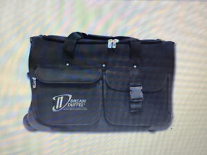 Black Dream Duffel with stool and garment rack