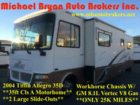 2004 TIFFIN ALLEGRO 35' CLS A *2 LARGE SLIDES*GREAT SPRING PRICE