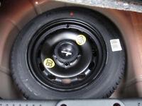 FORD FIESTA SPARE WHEEL & JACK KIT (brand new wheel)