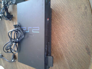 Playstation 2 console with accessories