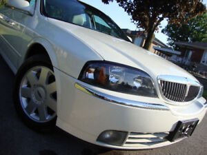 2005 Lincoln LS pearl white sport luxury