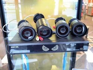 *** USED ***  SECURITY CAMERA SYSTEM   S/N:118-010123   #STORE582