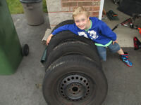 Tires and rims- Grandson not included