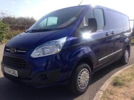 2014 64 FORD TRANSIT CUSTOM 2.2TDCi 125PS 270 SHORT WHEEL BASE TREND !!