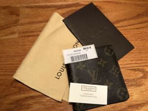 MINT Louis Vuitton M60929 Monogram Porte Billets 6 Wallet