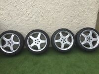 "Genuine Mercedes AMG 19"" staggered wheels 5x112"