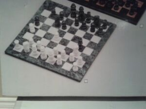 Marble Chess Set. New in the box