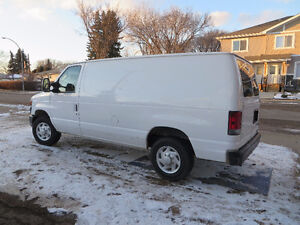 2009 Ford E-150 Commercial Cargo Van - 173000km, auto trans