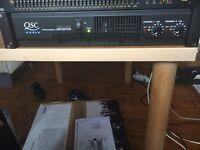 Qsc rmx 1450 (boxed) PA, power amp, professional Equipment