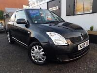 SUZUKI SWIFT GL Black Manual 1.3 Petrol, 2008