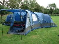 Sahara 6 man tent with accessories £200 ono