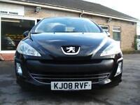 2008 Peugeot 308 1.6HDi ( 90bhp ) S 5d **£30 Tax / NEW MOT**