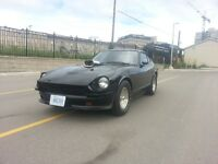 PRO-STREET DATSUN 280 Z and   THREE HOT RODS going CHEAP !!!!