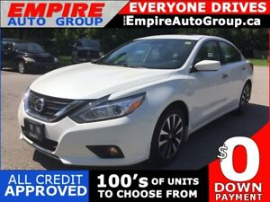 2017 NISSAN ALTIMA SV * BACKUP CAMERA * HEATED SEATS * POWER MOO