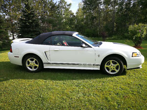 2000 Mustang Convertible V6 in excellent condition