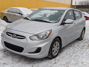 2013 HYUNDAI ACCENT GLS. ONE OWNER ONLY 99KM!
