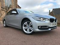 *12 MTHS WARRANTY*2012(62)BMW 320D START/STOP SPORT(2013 MY) WITH ONLY 57K*