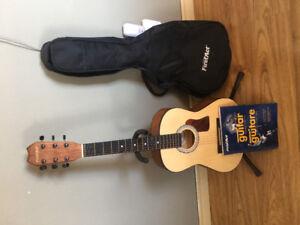Junior size guitar
