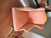 For Sale: Two antique chairs, rocker & Ladies wing Chair