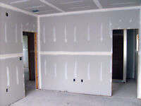 Insulation, Poly, Drywall, Mudding, Taping, Sanding and Painting