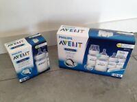 Phillips Avent feeding bottles (2 packs)