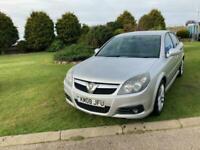 2008 08 Vauxhall Vectra 2.2i Petrol 16v SRi Silver 5 Door MOT 05/22.